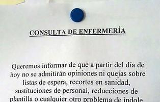 La nota de una enfermería indignada que triunfa en las redes sociales