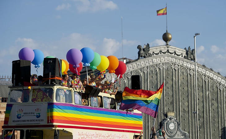 Orgullo LGTB en Madrid