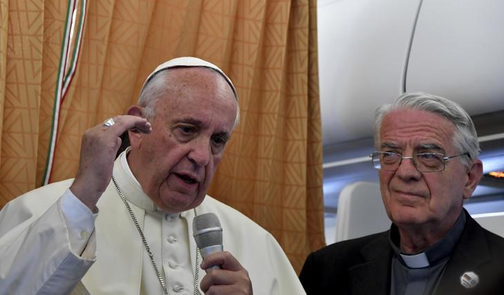El Papa Francisco I, a favor de la comunidad LGTB