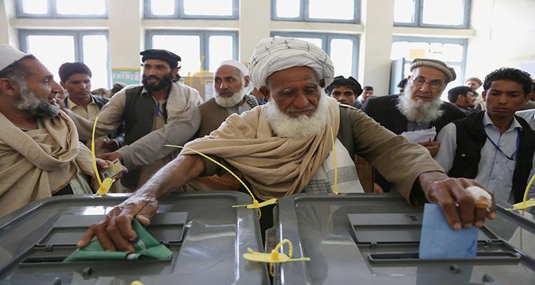 En Afganistán existe la segunda vuelta electoral