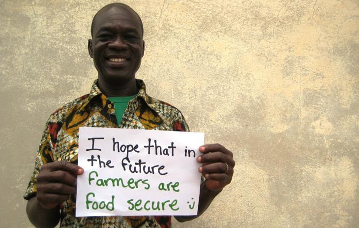 Espero que en el futuro los agricultores produzcan comida segura