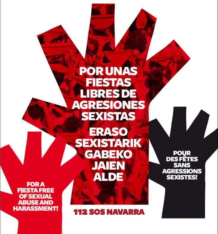 'Por unas fiestas libres de agresiones sexistas', lema de la campaña