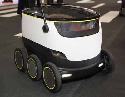 El robot repartidor es una realidad y llega este mes a Europa