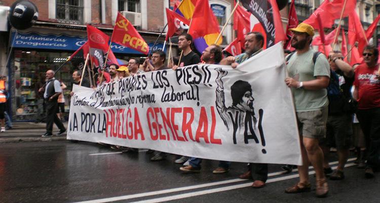 Un 16,8% de los asalariados españoles está afiliado a un sindicato