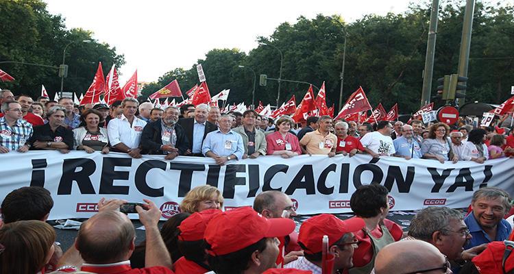Los sindicatos son las organizaciones peor valoradas por detrás de los partidos políticos