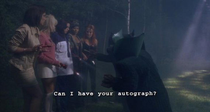 ¿Me das un autógrafo?
