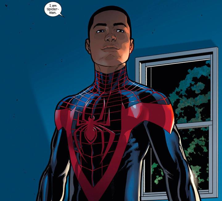 Miles, el nuevo Spiderman de Queens