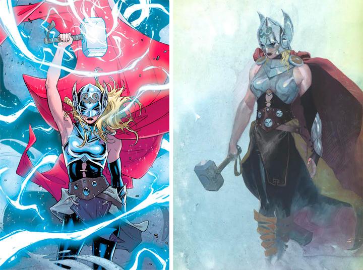 La nueva Thor