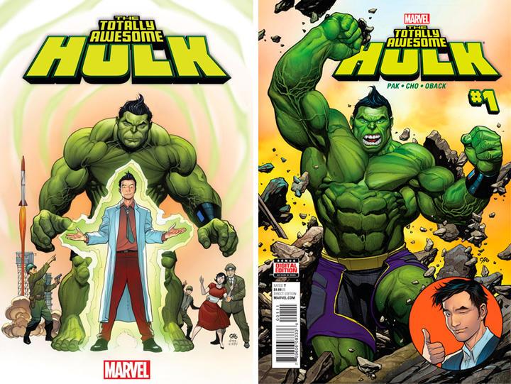 Hulk tiene ascendencia coreana