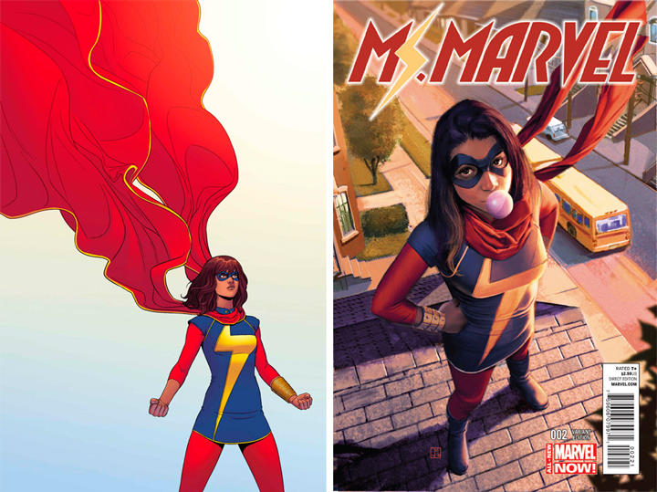 Ms. Marvel es ahora una joven musulmana