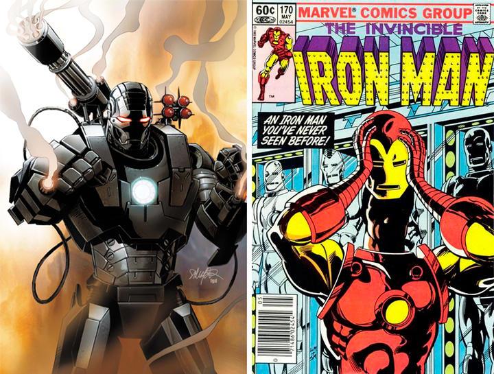 Iron Man no ha sido siempre blanco