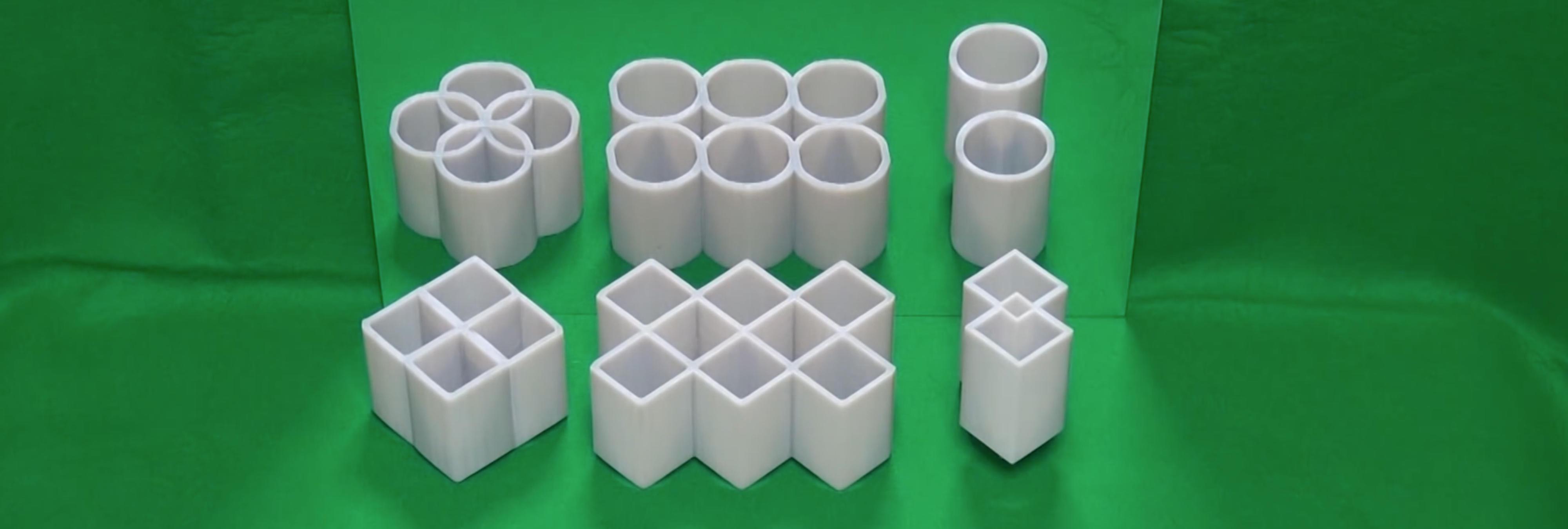 ¿Círculos o cuadrados? ¿Cuál es la verdadera forma de esta figura geométrica?