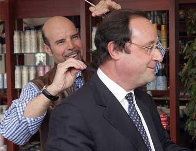 9.895 euros por un corte de pelo: Así reaccionan las redes al sueldo del peluquero de Hollande