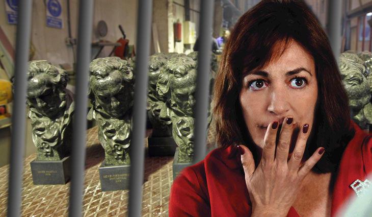 Los Goya confiscados de Carmen Maura