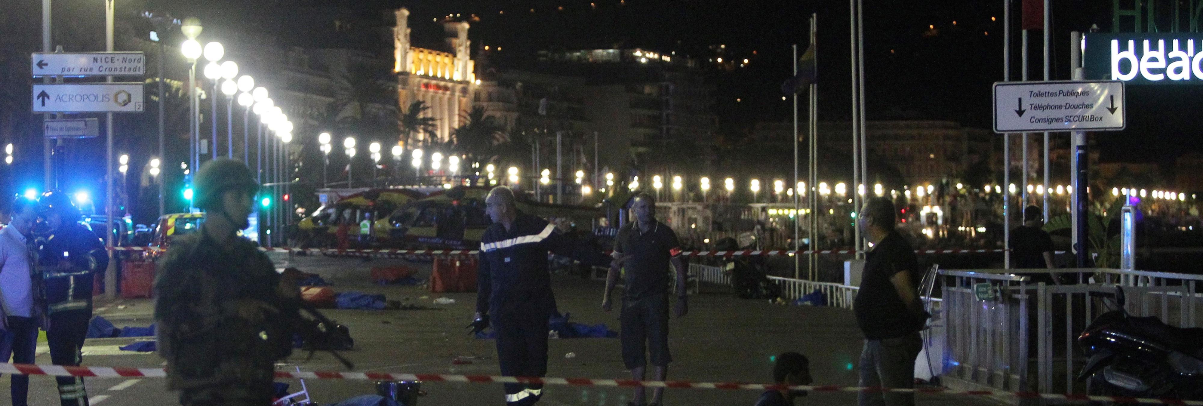 El atentado de Niza en primera persona: 'El camión de la muerte pasó a algunos metros de mí'