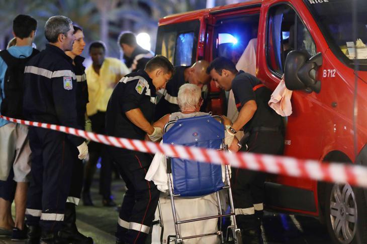 Heridos del atentado