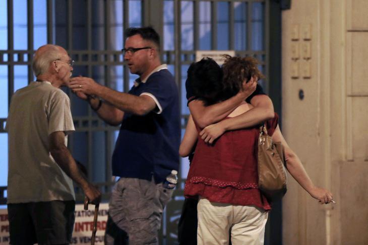 Testigos del atentado