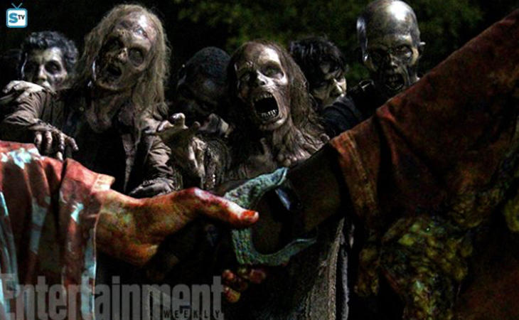 Maquillaje en 'The Walking Dead'
