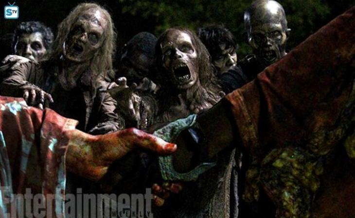 Maquillaje en 'The Walking Dead'