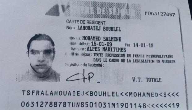 El permiso de residencia de Mohamed Lahouaiej Bouhlel