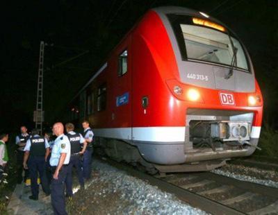 Un adolescente afgano ataca con un hacha a los pasajeros de un tren de Alemania