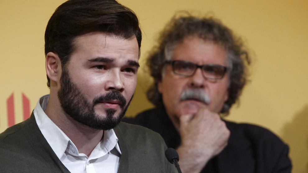 El portavoz de ERC, Gabriel Rufián, ha anunciado que su partido va a abstenerse en la elección del Presidente del Congreso.