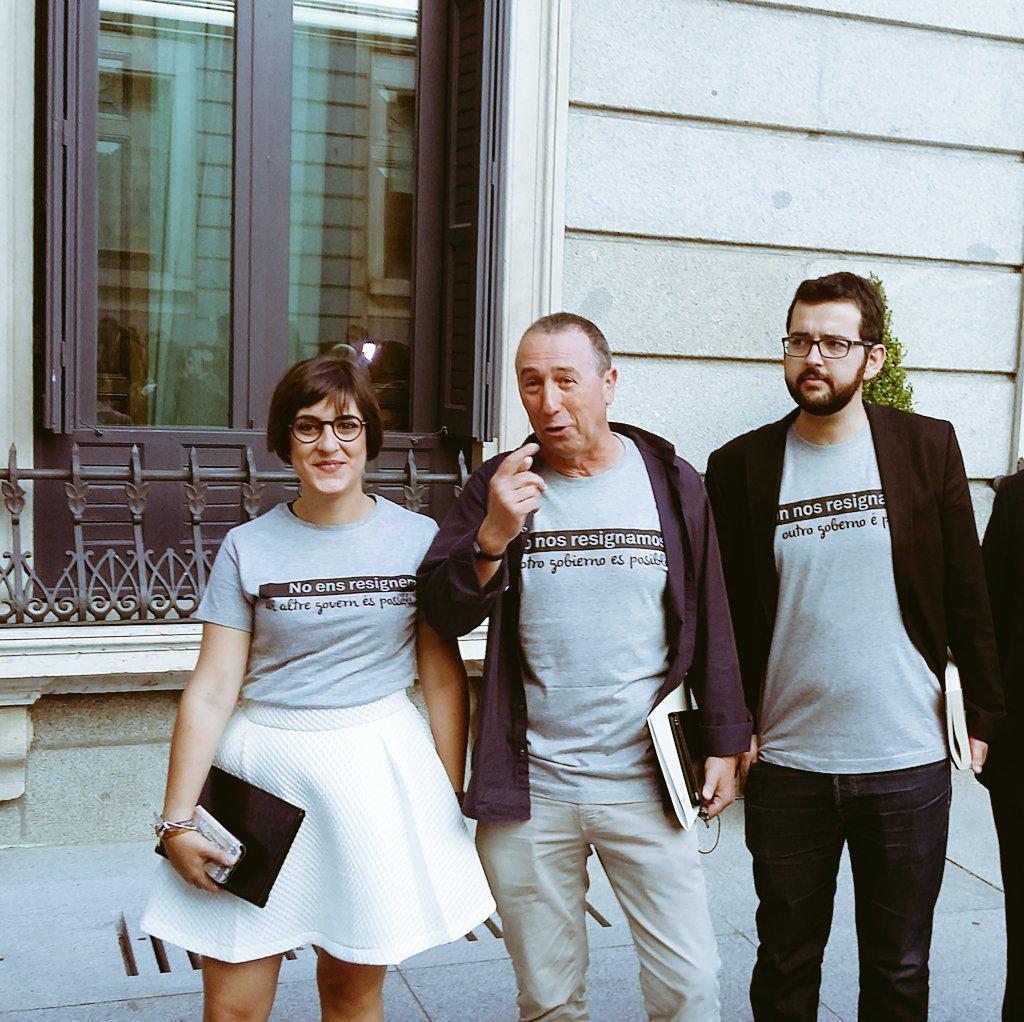 Las camisetas de Compromìs: