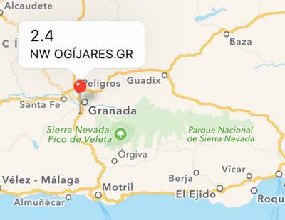 Un nuevo terremoto se deja sentir en el centro de Granada