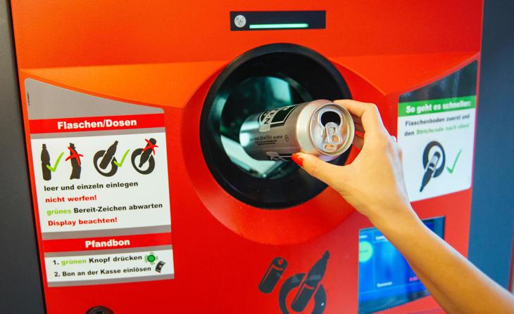 Máquinas de reciclaje alemanas