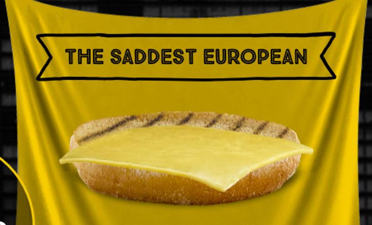 Ahora, sin el pan de arriba