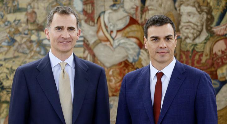Felipe VI se reunirá con Pedro Sánchez el viernes