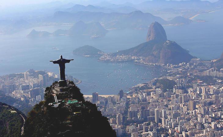 La bahía de Guanabara, una de las postales más emblemáticas de Río de Janeiro