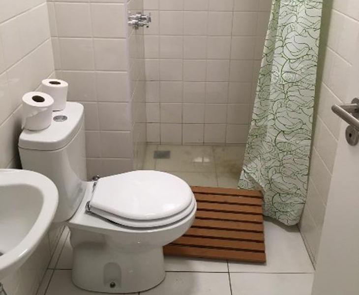 Baño atascado en la Villa Olímpica de Río (Delegación de Bielorrusia)
