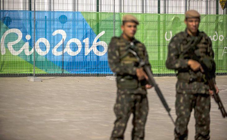 Militares ocupan las calles de Río para garantizar la seguridad durante los JJOO