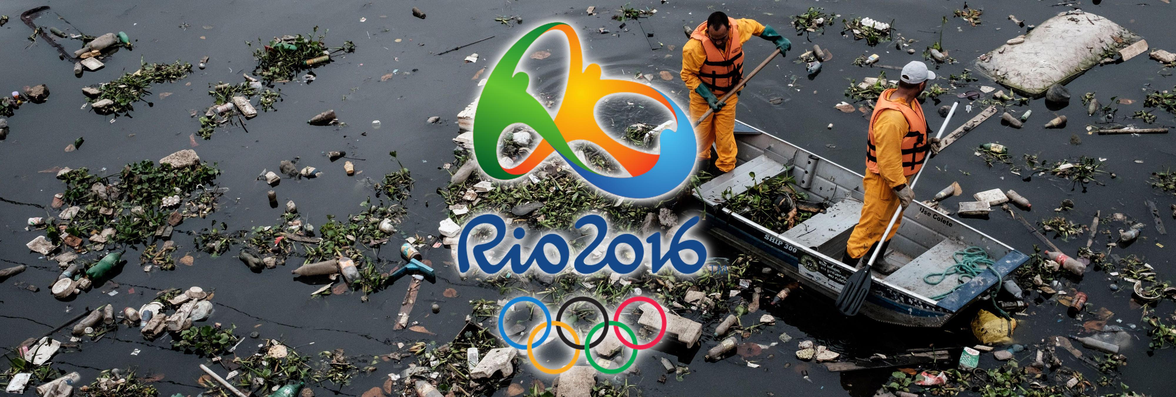 'Los atletas nadarán en mierda humana': Faltan unos días y Río no está preparada para los JJOO