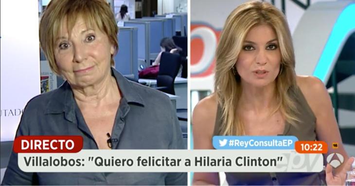 Espejo Público también se ha reído de Villalobos con sus faldones