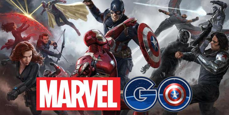 Peleas épicas en realidad aumentada con la version 'Go' de Marvel