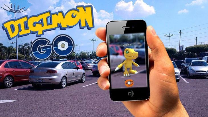 Atrapemos un Agumon con 'Digimon Go'