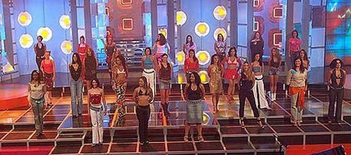 Plató y concursantes de 'Popstars: Todo por un sueño'