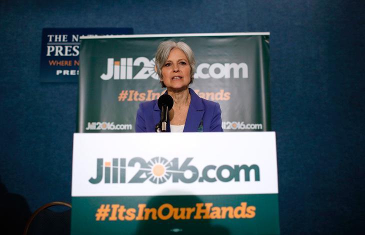 Jill Stein, líder del Partido Verde