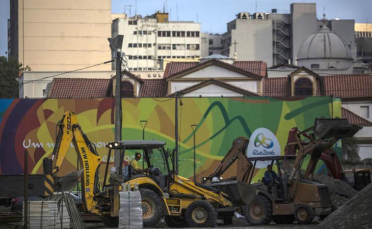 Brasil ha tenido graves problemas para construir las instalaciones a tiempo