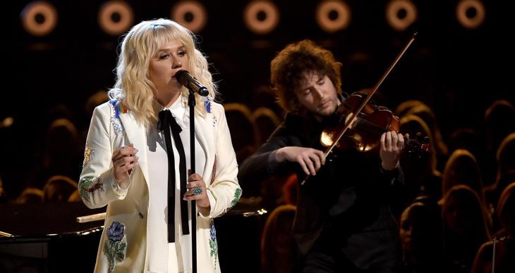 Kesha en la última gala de los Billboard Awards