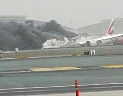Un avión de Emirates sufre un aterrizaje forzoso en Dubai