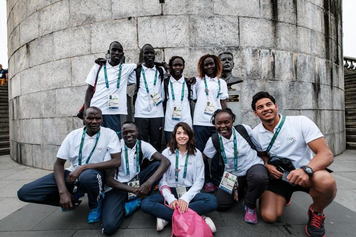 El equipo olímpico de refugiados de Río 2016