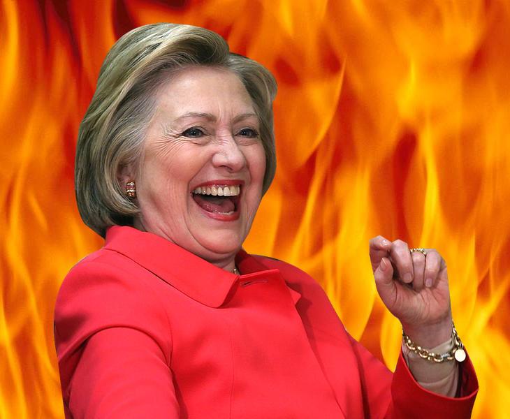 Hillary Clinton siguiendo con sus planes malignos
