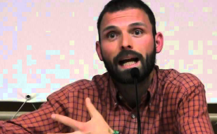 Tom Kucharz, miembro de Ecologistas en Acción