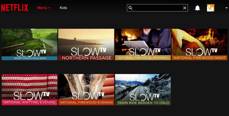 'Slow TV' ya está disponible en EEUU