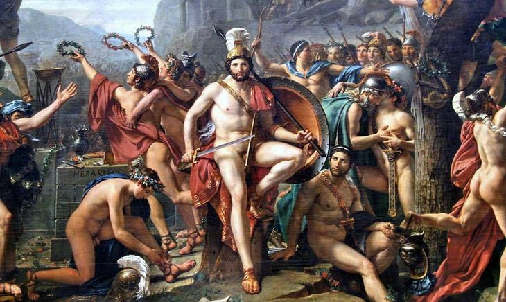 El Batallón Sagrado de Tebas estaba formado por 150 parejas de hombres homosexuales