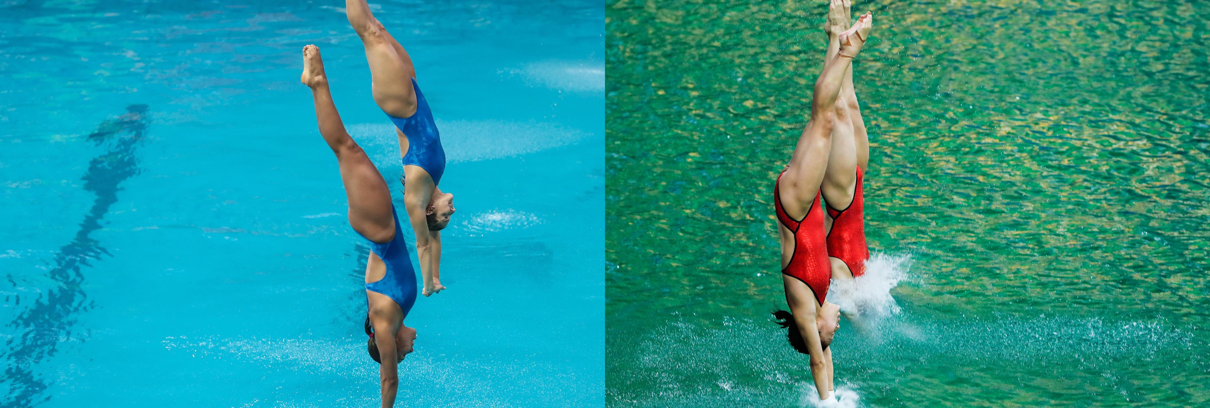 ¿Por qué la piscina de saltos se volvió verde? Nueva polémica en las infraestructuras de Río 2016