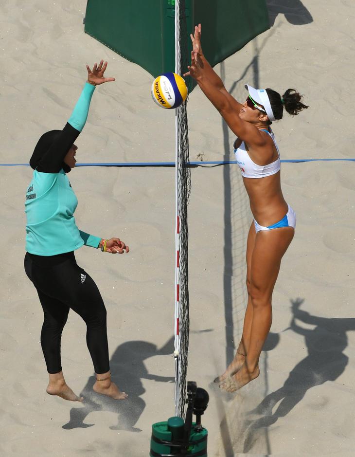 El hiyab de las atletas egipcias, una de las fotos más comentadas de Río 2016